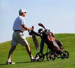 Image result for best golf push cart